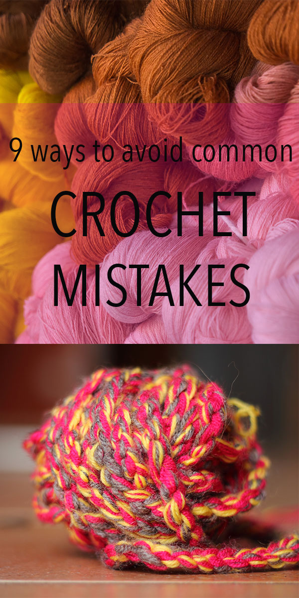 Crocheting Mistakes : Ways To Avoid Common Crochet Mistakes - Lucy Kate Crochet