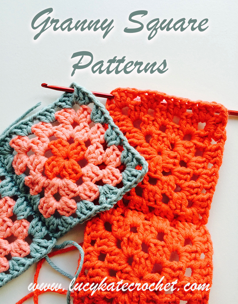 Free Easy Crochet Granny Square Pattern