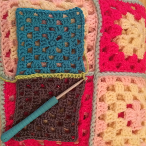 How To Make A Granny Square Blanket. Detailed granny square pattern and instructions
