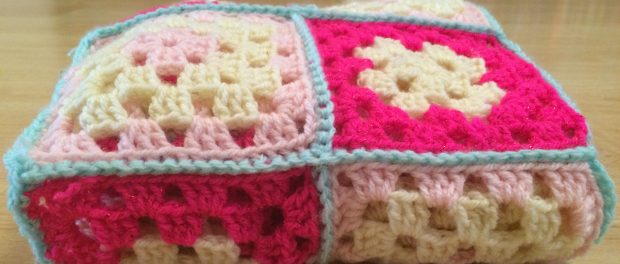 How To Crochet A Blanket With Multiple Granny Squares Lucy Kate