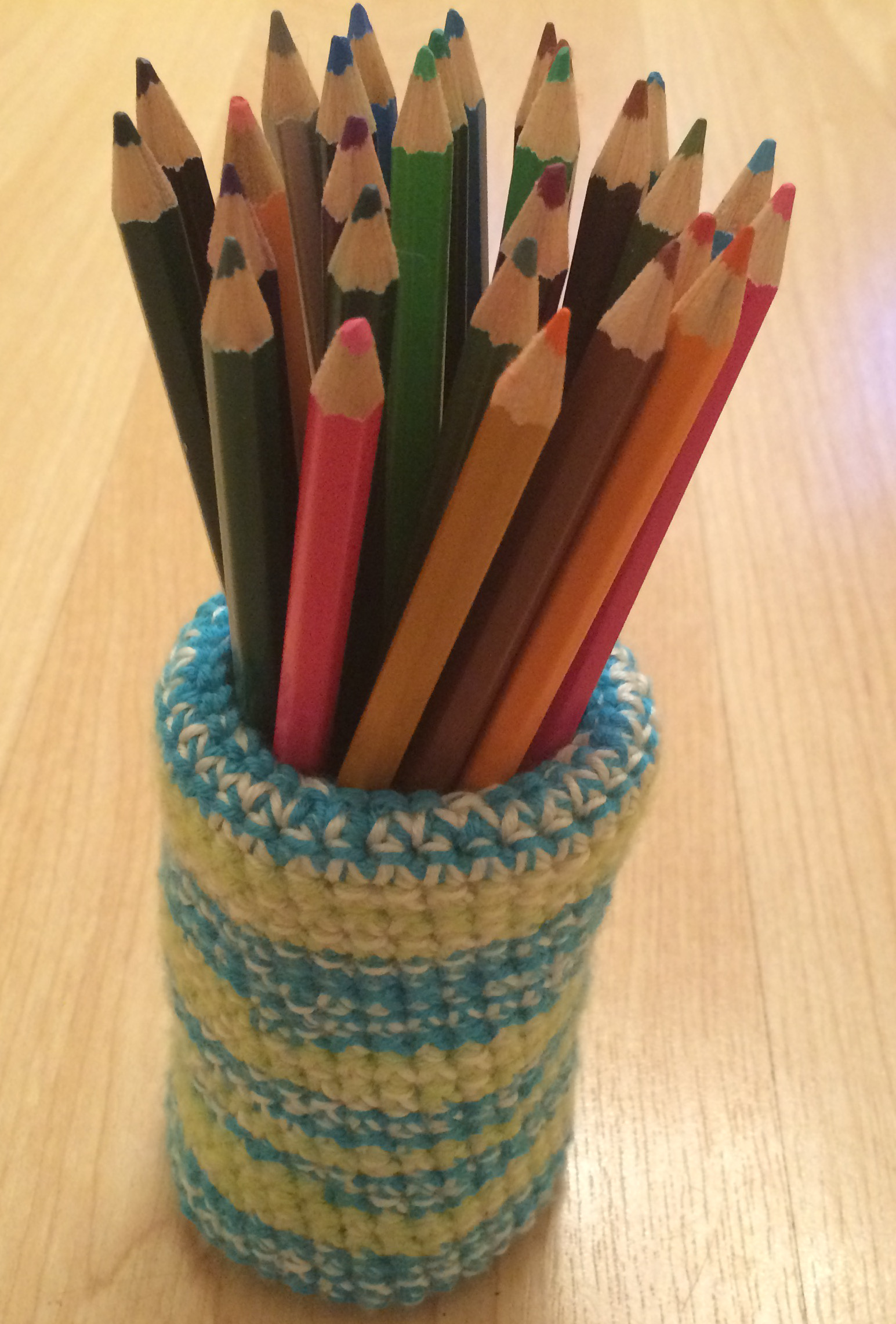 How To Crochet A Pencil Holder - Your Gorgeous Crochet Pencil Holder Pattern