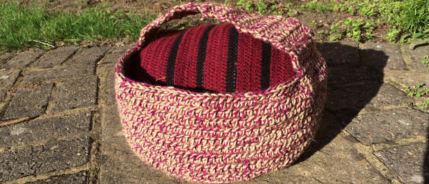 How to Crochet a Twine Basket