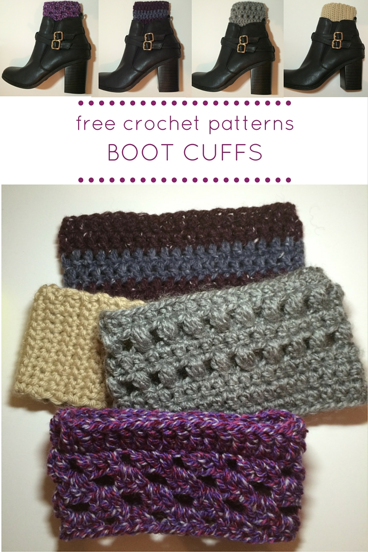 How to Crochet Boot Cuffs - Lucy Kate Crochet