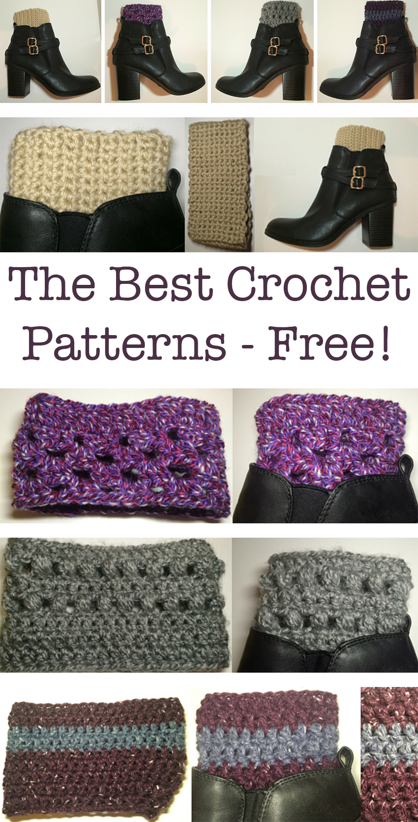 Free Crochet Book Cuff Patterns