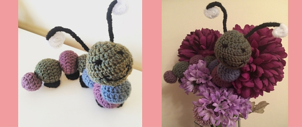 How To Make A Crochet Caterpillar Toy