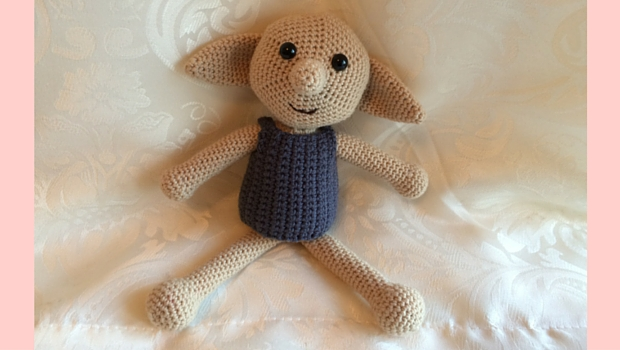 Dobby Toy - a free crochet pattern