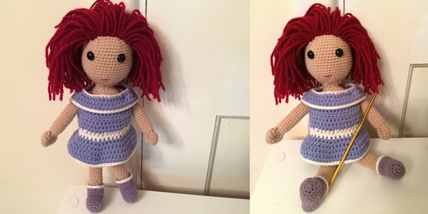 How To Crochet Doll Arms and Body – A Basic Crochet Doll Pattern