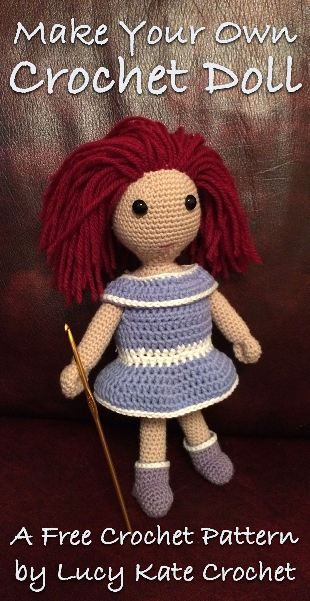 How To Crochet Doll Arms And Body A Basic Crochet Doll Pattern