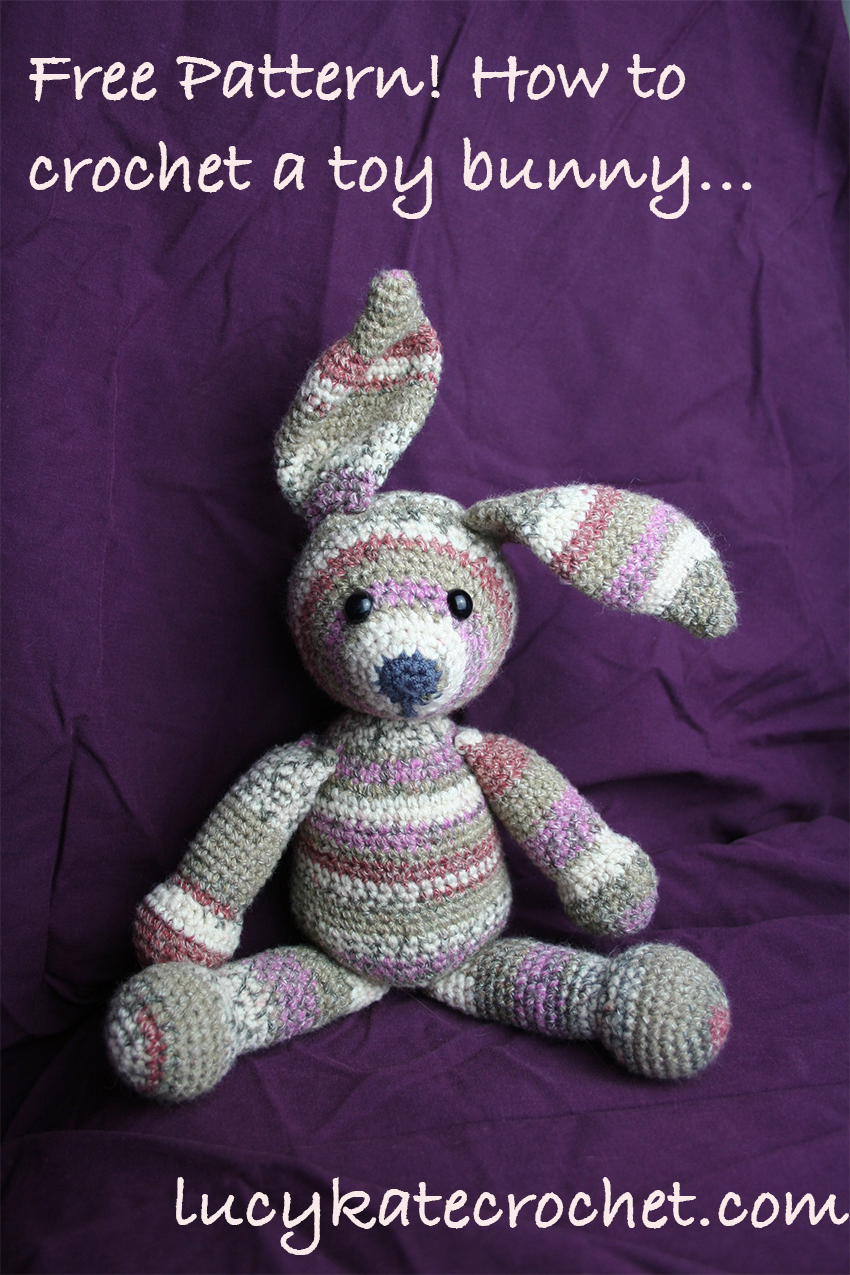 Free Crochet Bunny Rabbit Pattern