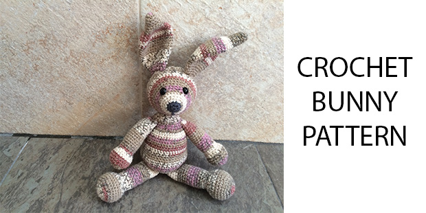 Free Crochet Bunny Pattern - How To Crochet Your Own Toy Bunny