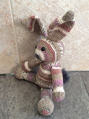 Free Crochet Bunny Pattern - Instructions for how to crochet a bunny.