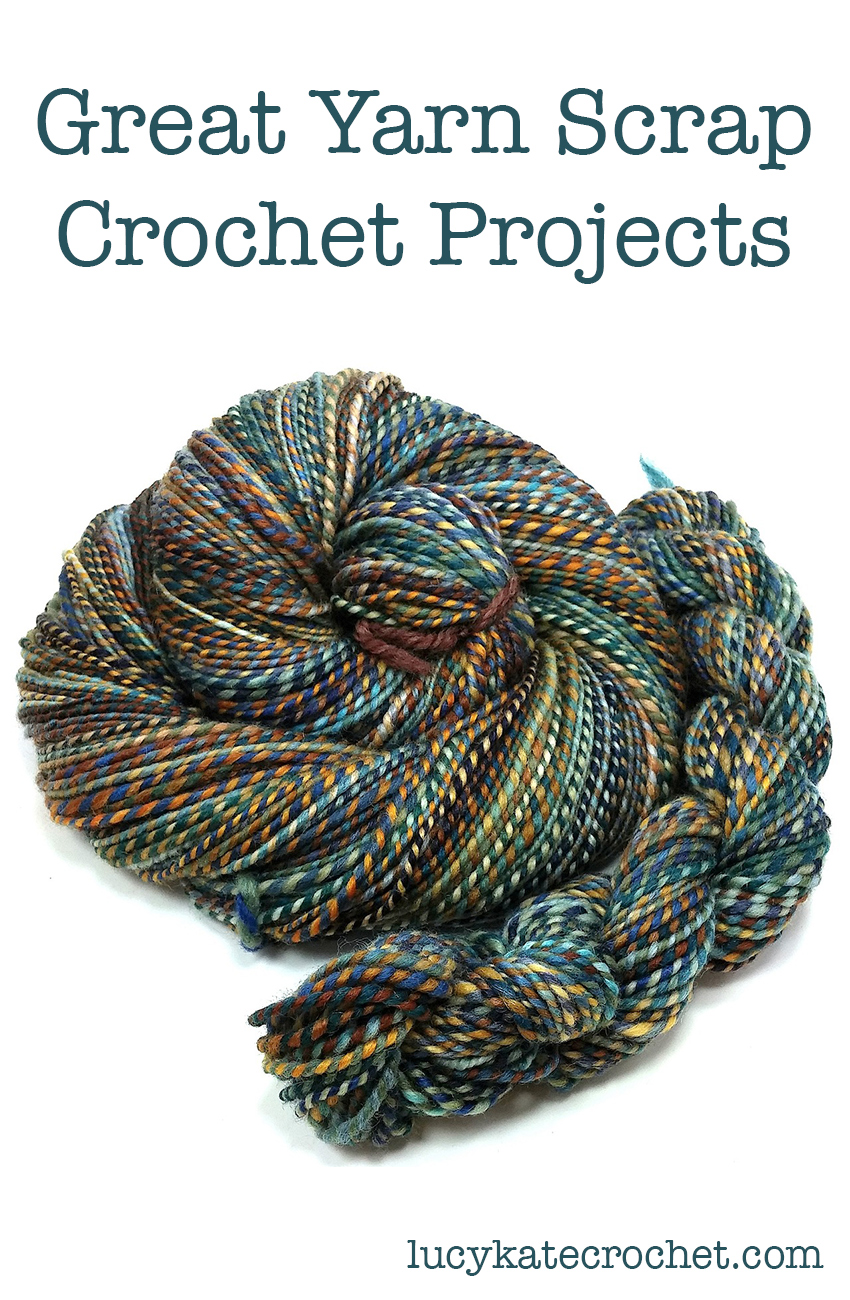 Yarn Scrap Crochet Projects
