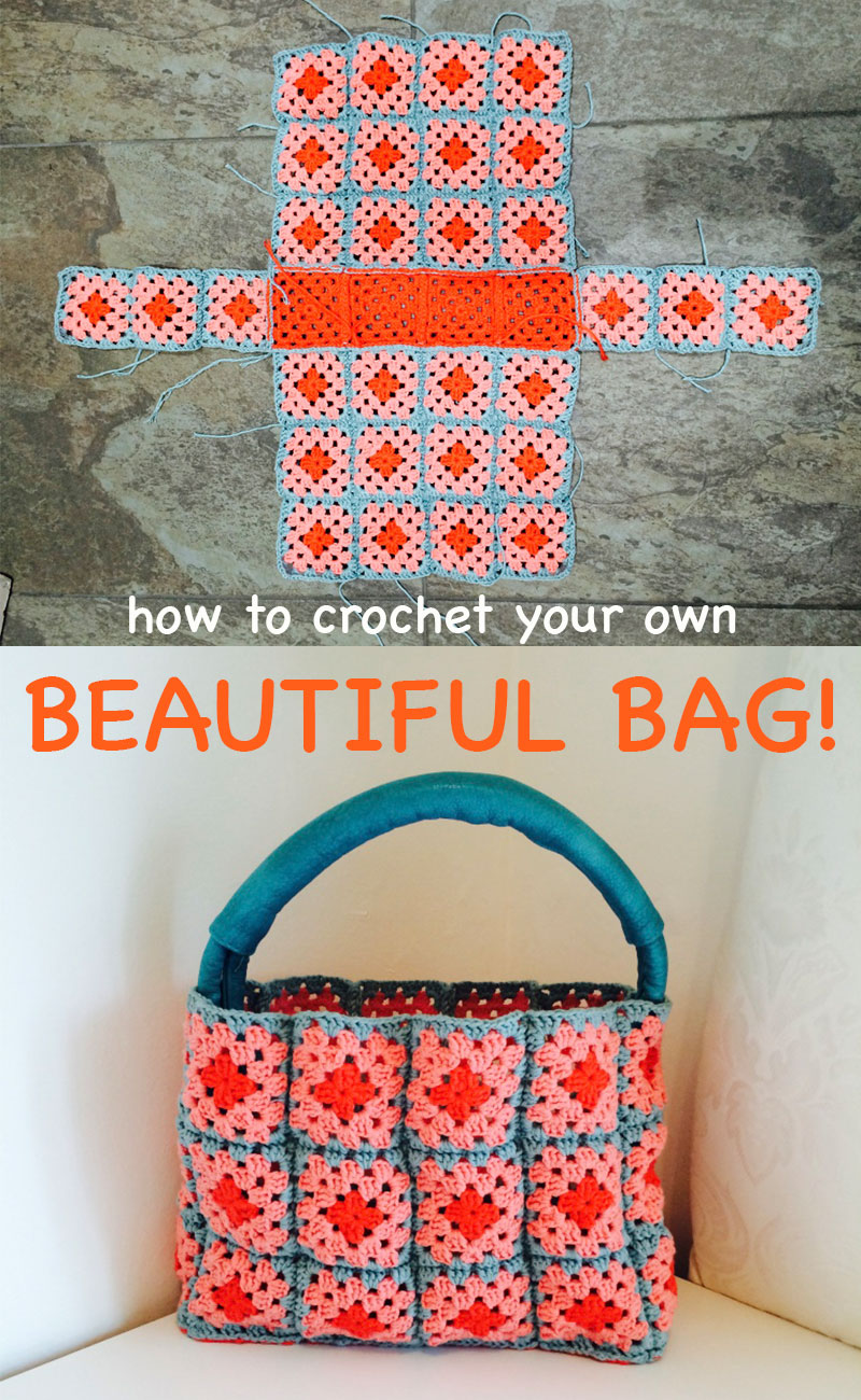 crochet bag - Lucy Kate Crochet