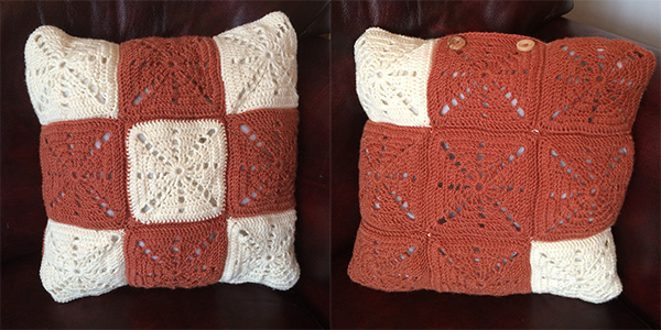 Crochet Cushion Pattern: Vintage Style