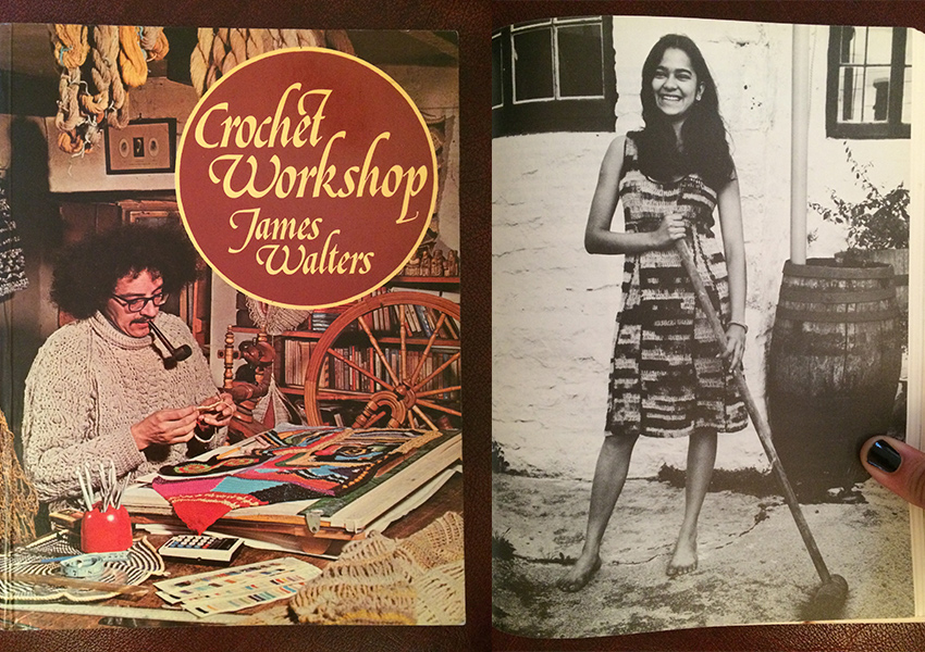 Vintage crochet books make wonderful gifts for crocheters