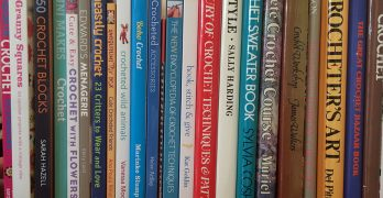 Crochet Books: My Crochet Bookshelf