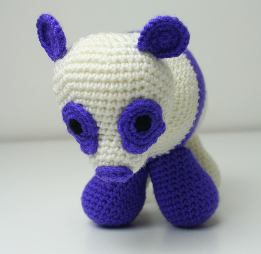 Ravelry: The Panda Bear - Amigurumi pattern by Kipre & Pähkla | 826x850