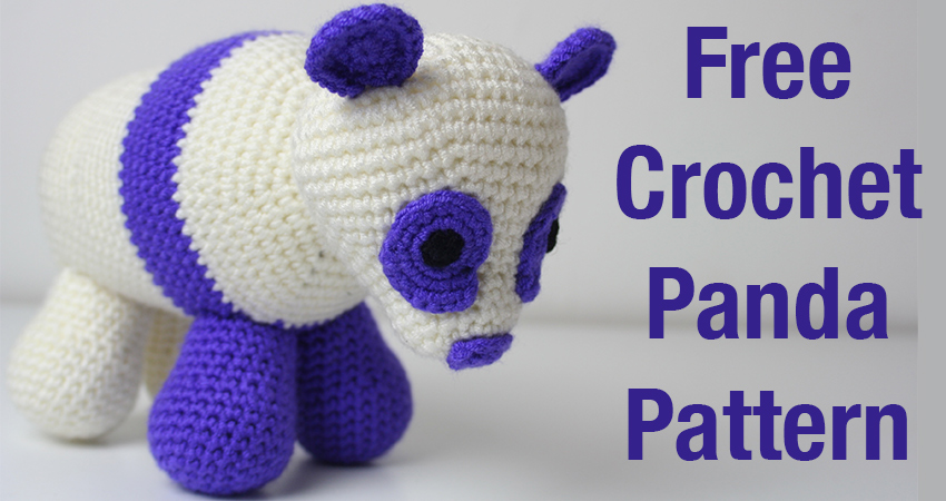 Crochet Panda Bear Pattern Lucy Kate Crochet