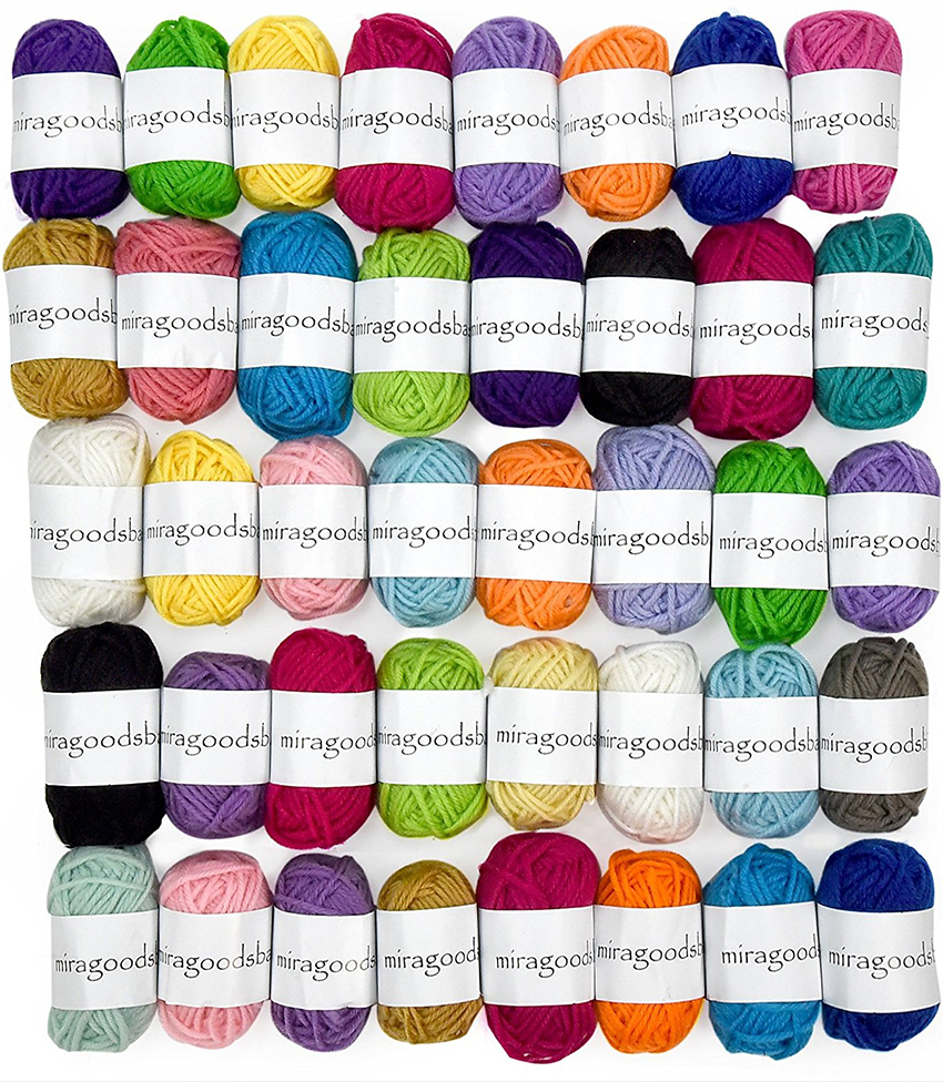 Gifts for crocheters - Crochet Yarn Set