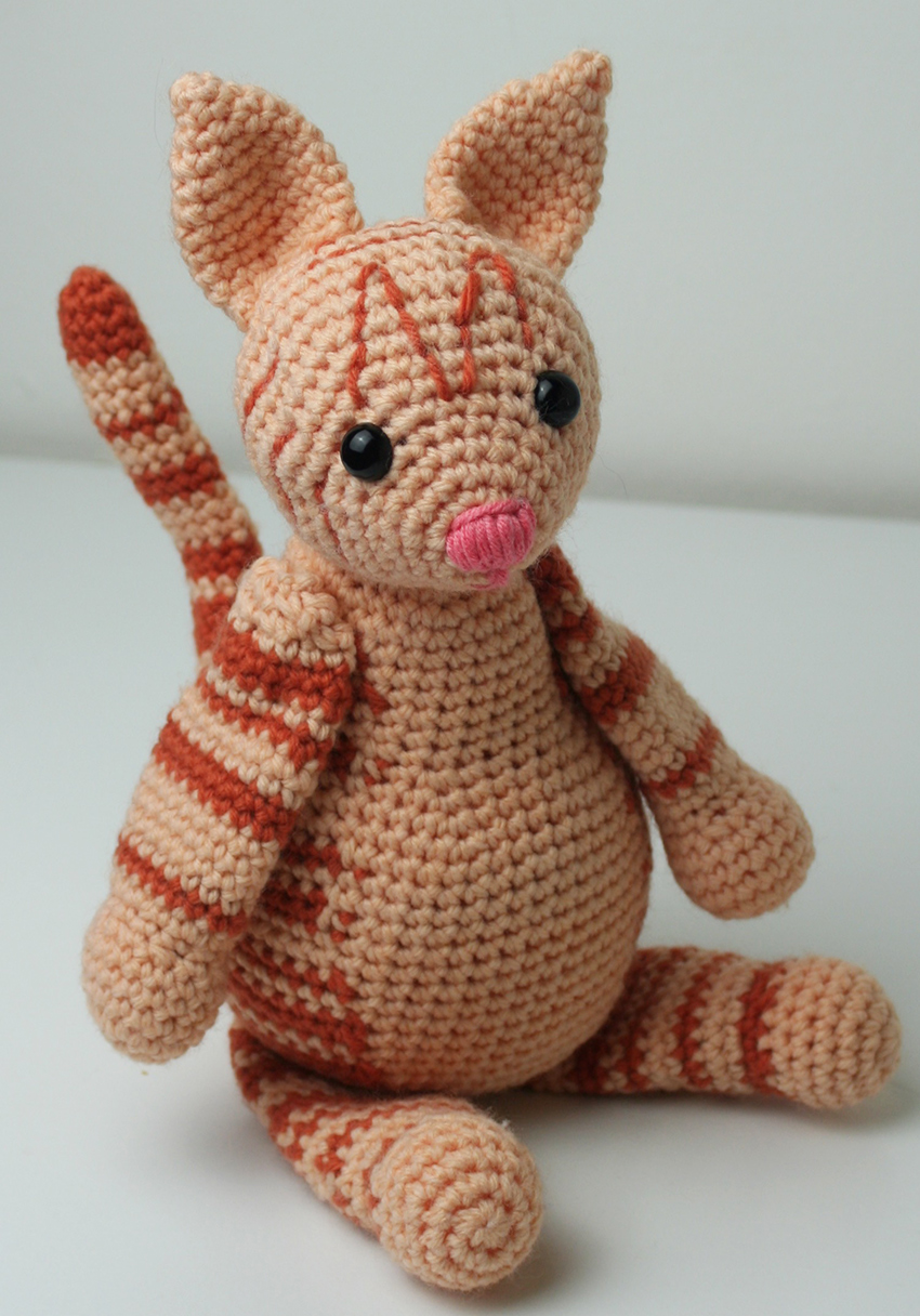Crochet Kitten Pattern