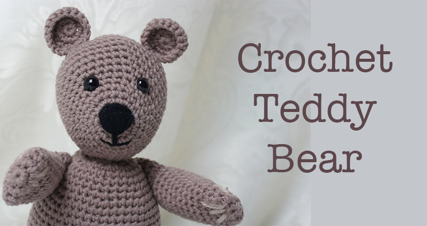 Amigurumi Teddy Bear Free Patterns : Free crochet teddy bear pattern lucy kate crochet