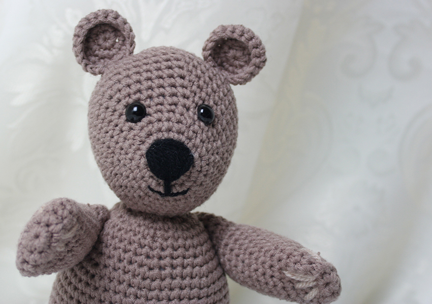 How To Make A Crochet Teddy Bear - A Free Pattern By Lucy Kate Crochet