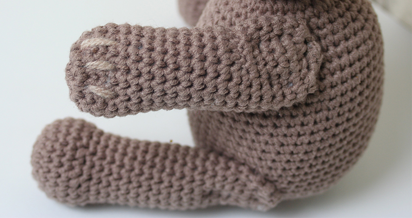 Crochet Teddy Bear Limbs