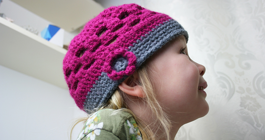 Cute Pattern For A Crochet Kids Hat