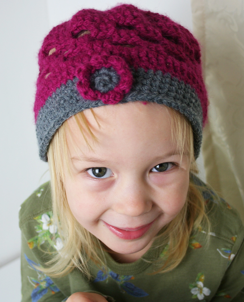 Cute Crochet Kids Hat Pattern