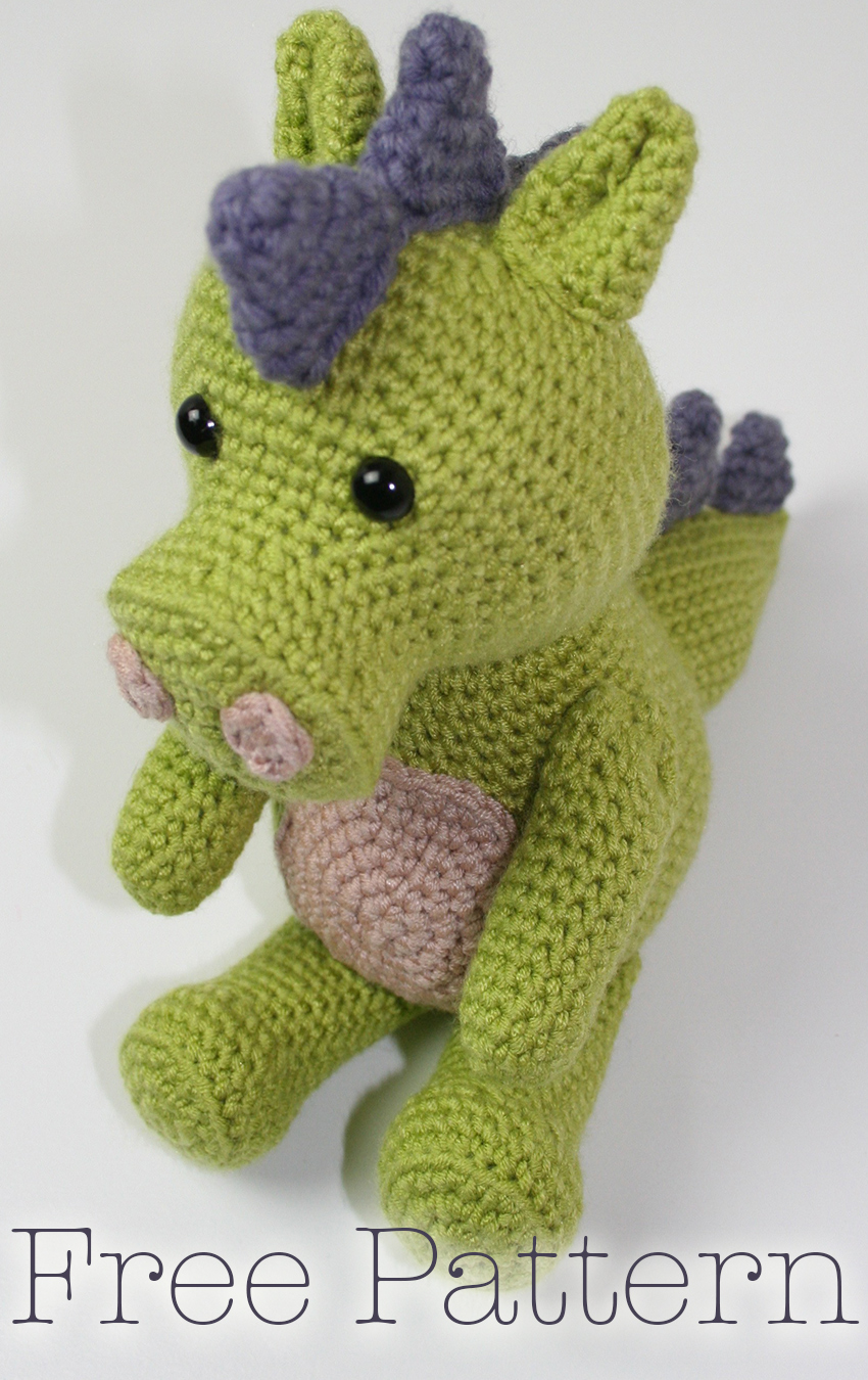 Free Crochet Dragon Pattern By Lucy Kate Crochet