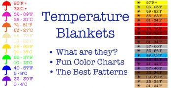 Temperature Blanket – How To Make A Crochet Temperature Afghan