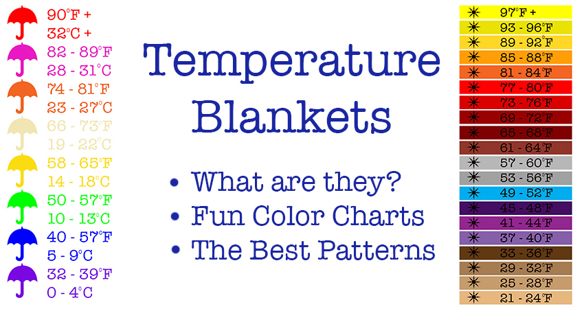 Temperature Blanket - How To Make A Crochet Temperature ...