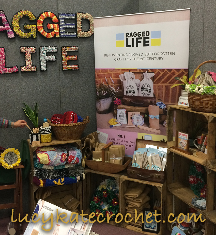Ragged Life Rag Rug Stall at the Knitting and Stitching Show