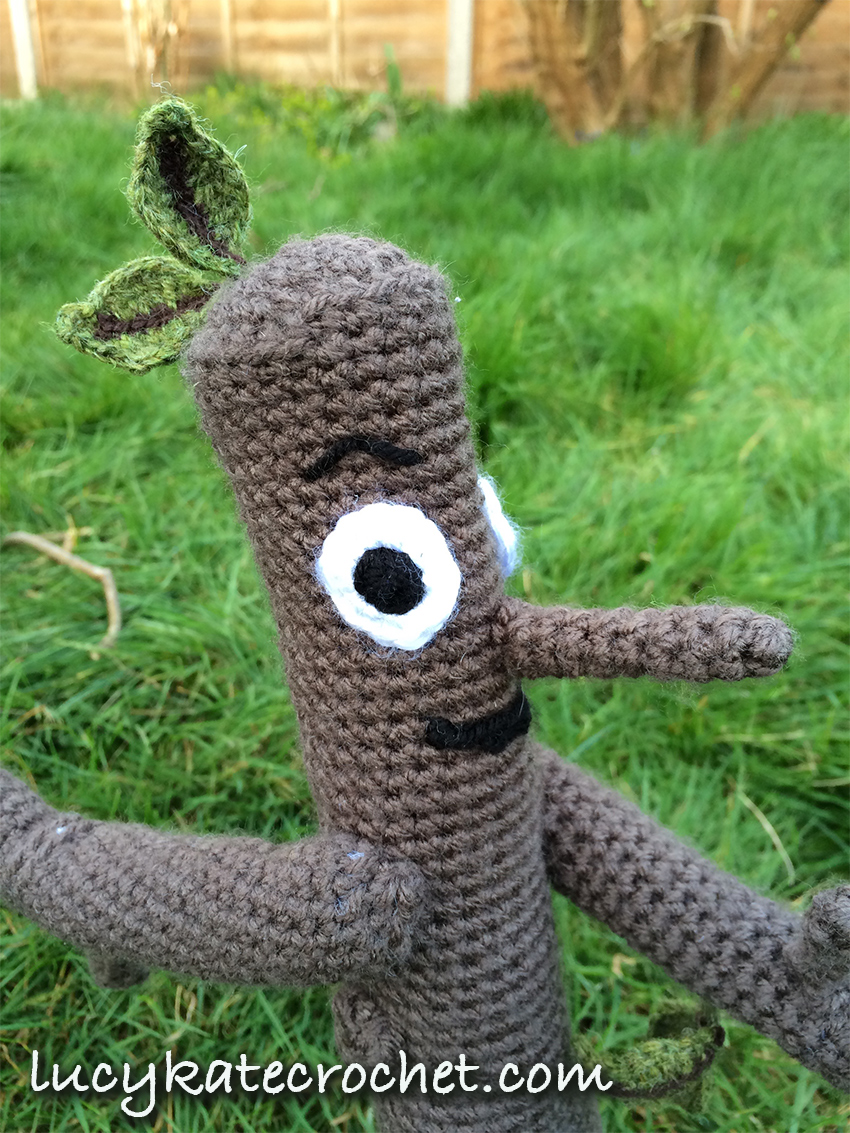 Free Crochet Stick Man Pattern - how to make your own stick man crochet toy