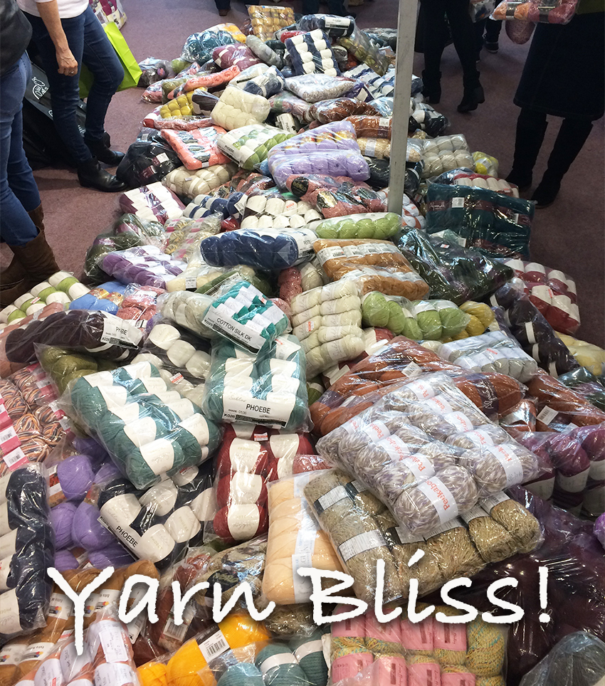 Black Sheep Wool at The Knitting and Stitching Show