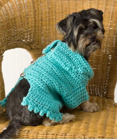 Free crochet dog sweater patterns - Read Heart