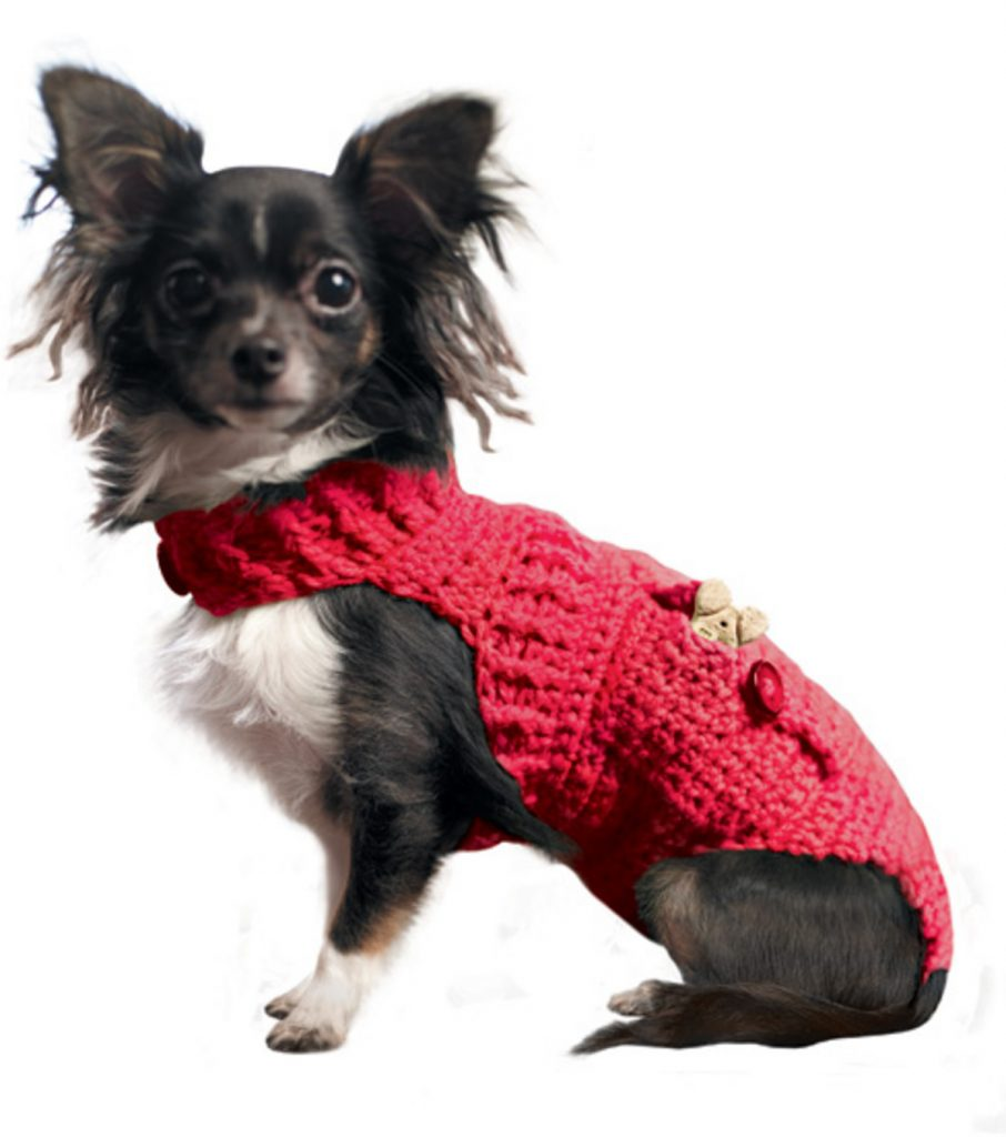 free crochet dog sweater patterns - joann.com
