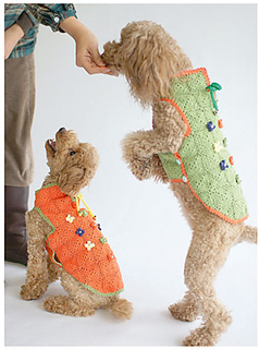 free crochet dog sweater patterns - crochet toy poodle dog sweater